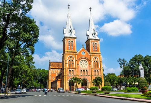 Notre-Dame Cathedral Basilica Saigon