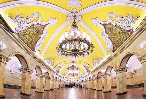 Stunning Moscow Subway Stations