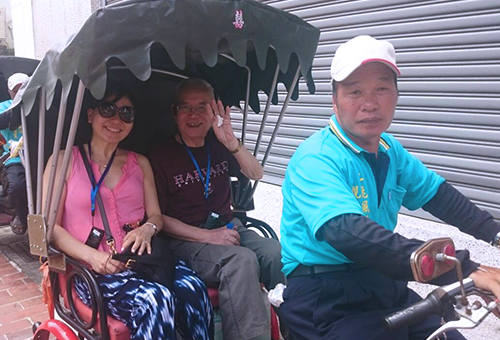 Exploring Lukang on an Electric Tricycle Tour