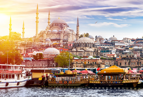 See beautiful views of Istanbul