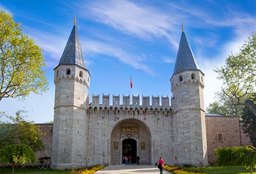 Visiting Topkapi Palace