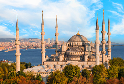 The Magnificent Blue Mosque