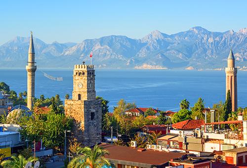 The Biggest Turkish Resort City Antalya