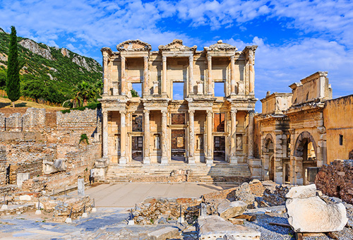Ancient Roman Ruins of Ephesus