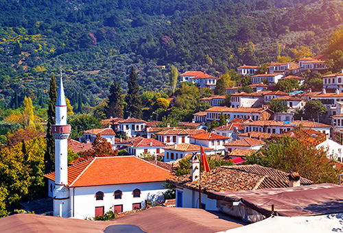 Charming hilltop village Sirince