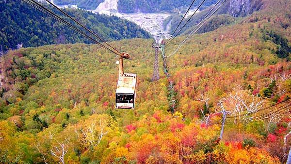 Island of Hokkaido (Fall)Autumn Maple Viewing