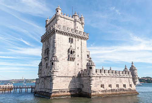 Witness the glory of the great Belem Tower