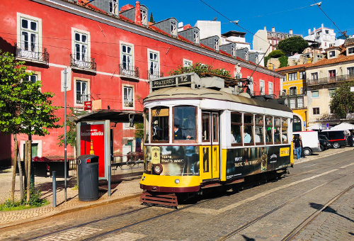 Explore Lisbon in a vintage tram