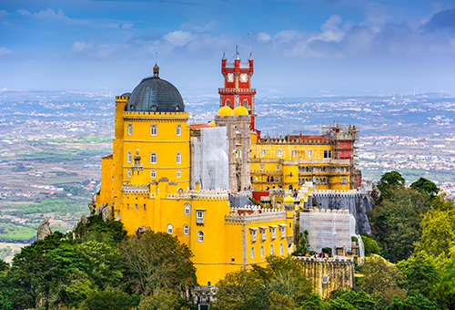 Pena Palace, a real-life fairytale castle