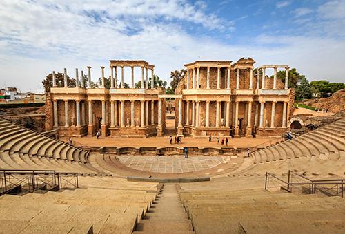 Teatro Romano, an amazing ancient Roman amphitheater