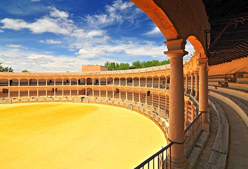 Plaza de Toros de Ronda, the oldest bullfighting arena in Spain