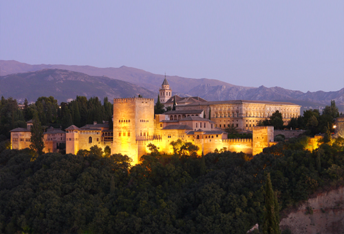 Spend a mysterious night visiting The Alhambra