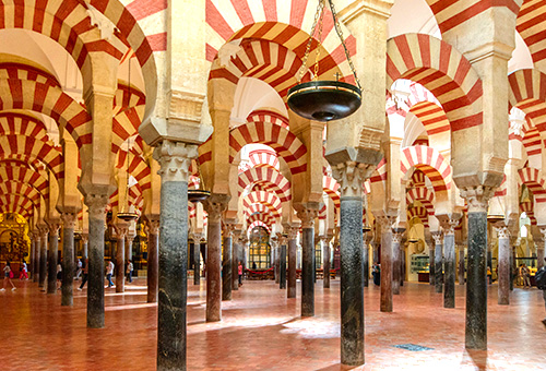 The Mosque of Cordoba, where Islam and Catholicism coexist