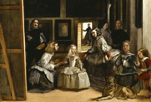 "View Diego Velasquez's masterpiece ""The Handmaid"" at the Prado Museum"