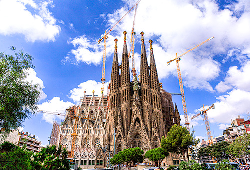 "Visit Gaudi's architectural masterpiece, ""La Sagrada Familia"""