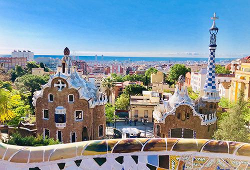 Gaudi's Park Güell, a UNESCO World Heritage Site