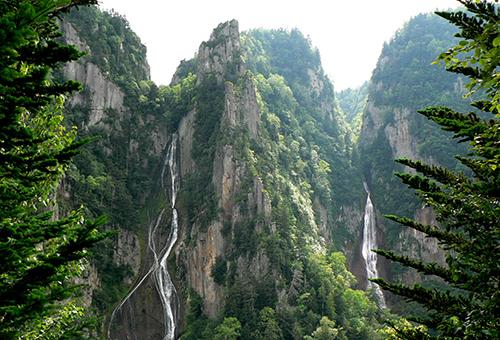 Ryusei & Ginga Falls