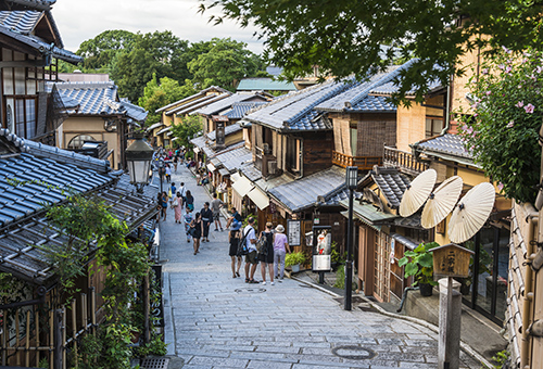 Browse century-old shops of Kyoto