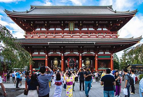 Visit Tokyo's most festive district