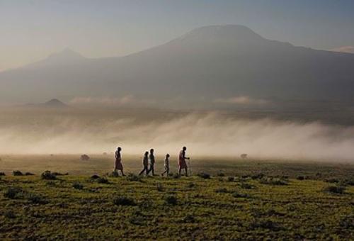 """Salty Dust"" from Mt. Kilimanjaro"