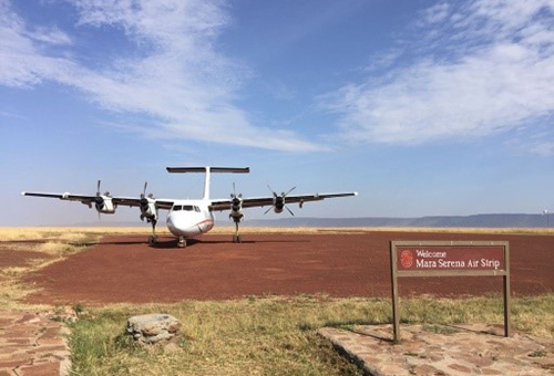 Flight back to Nairobi
