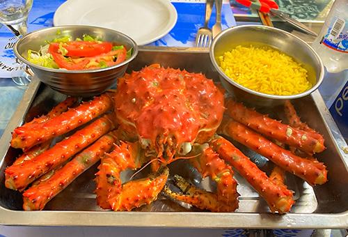 Ushuaia king crab