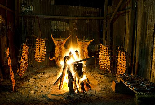 Traditional Argentinian Asado BBQ