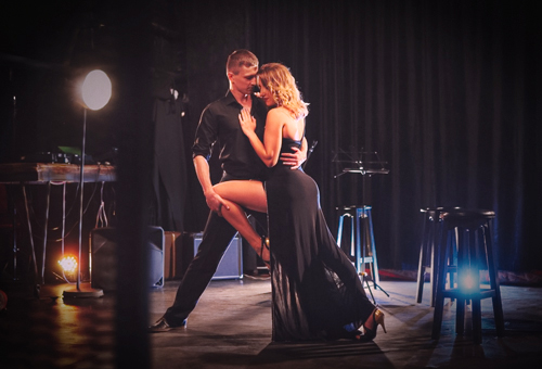 Argentine tango show